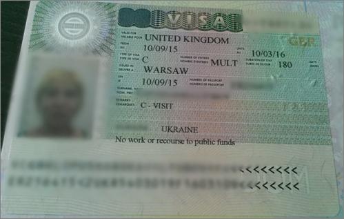 Виза в Великобританию не для США