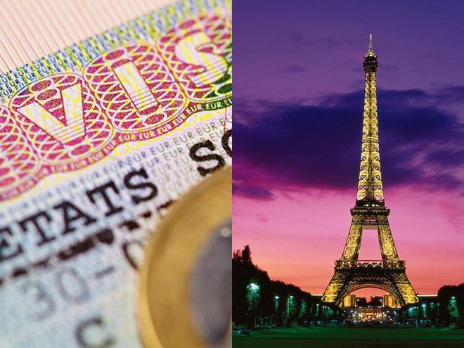 как получить визу во Францию в Украине