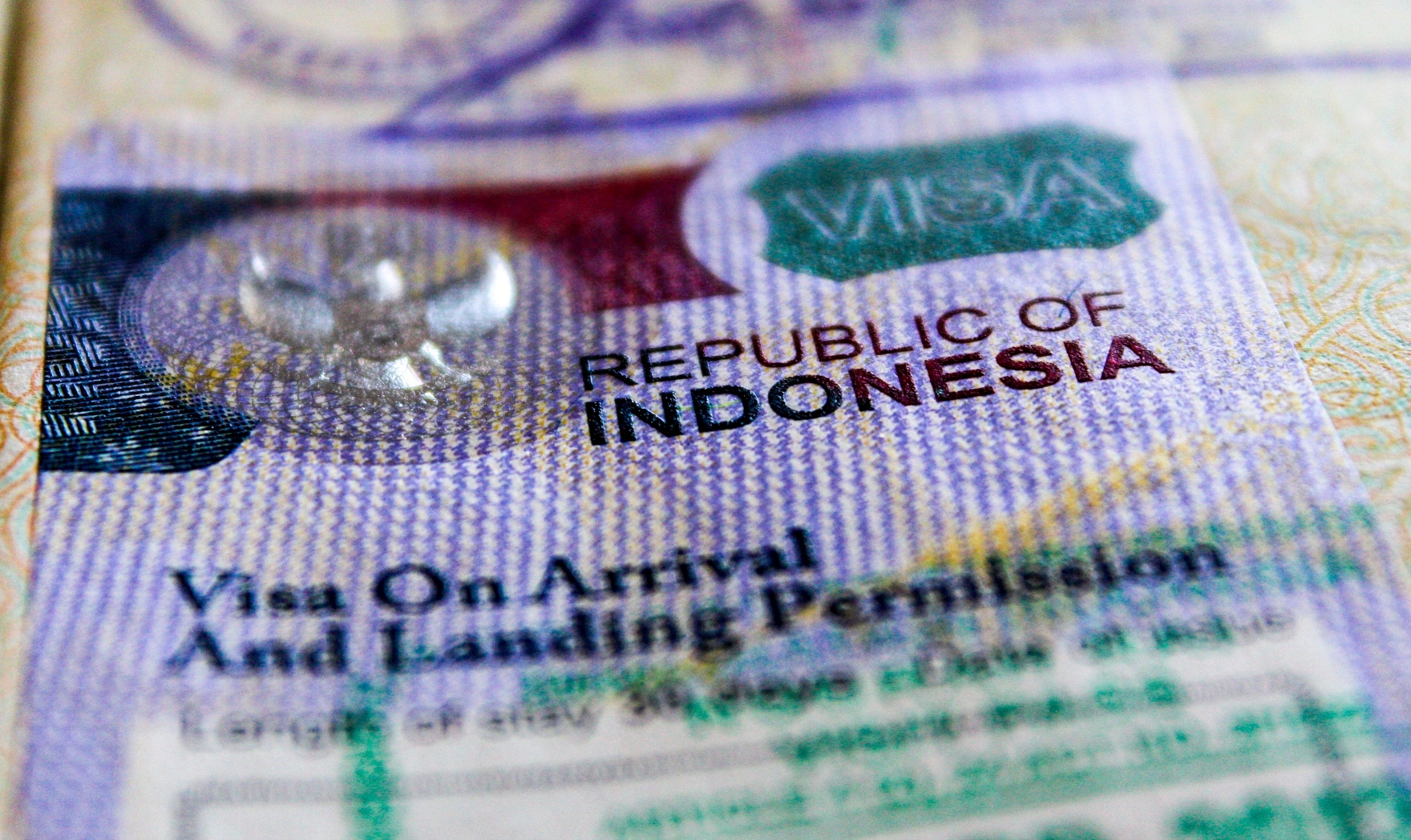 виза индонезия бали
