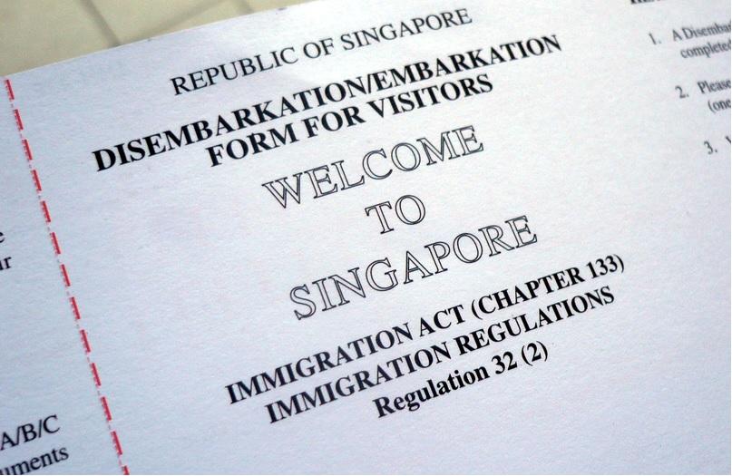 транзит через сингапур нужна ли виза