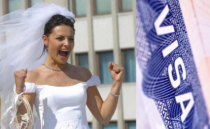 виза невесты во францию
