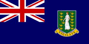 flag British Virgin ostrova