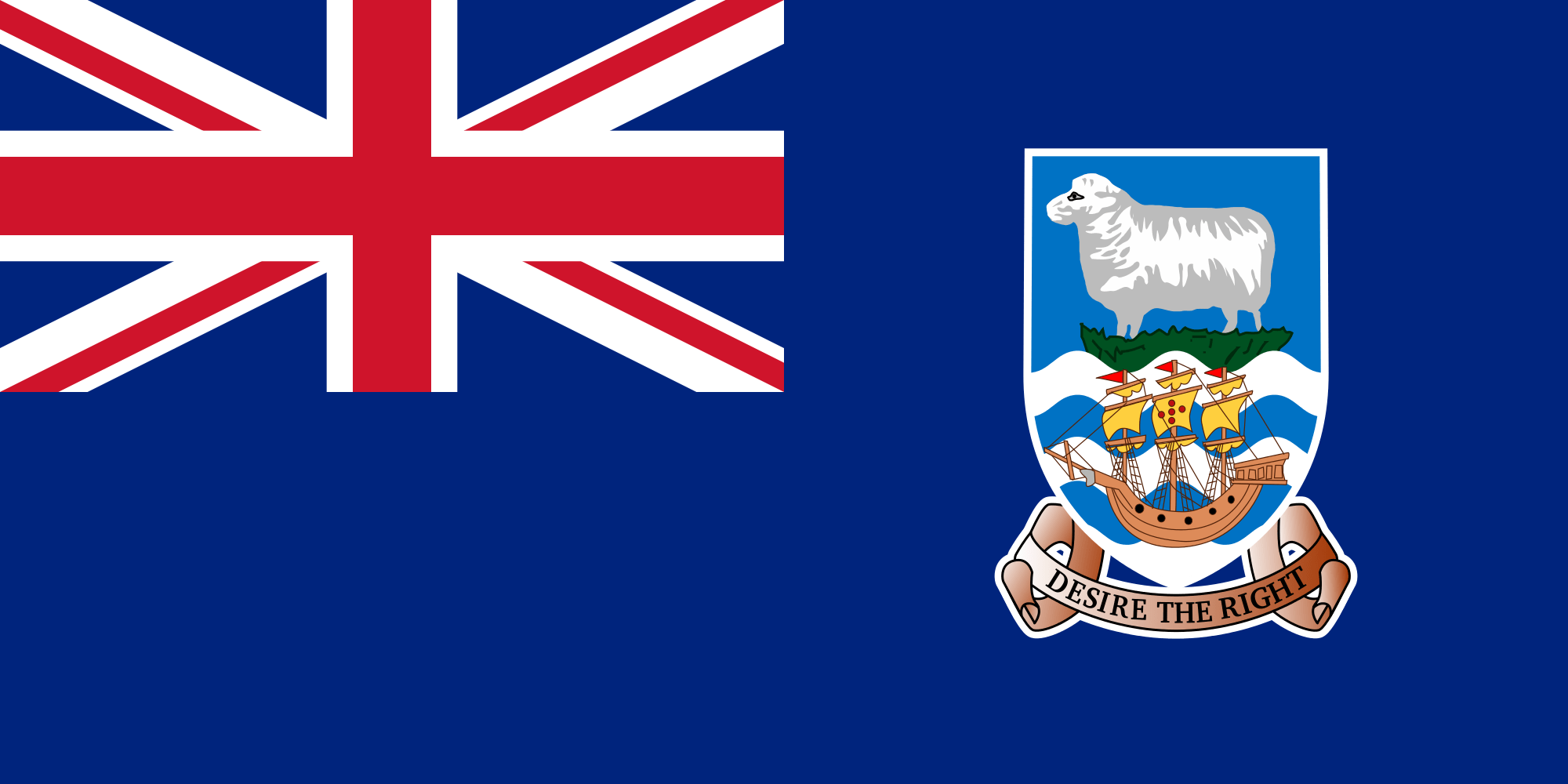 flag falkland